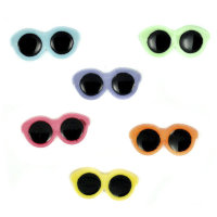 "Набор пуговиц ""Assorted Items-Bf-Button Fun Sunglasses"", 2287"