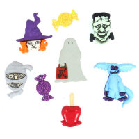 "Набор пуговиц ""Assorted Halloween Buttons-Happy Haunting"", 2991"