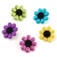 "Набор пуговиц "" ASSORTED ITEMS-GLITTER FUN FLOWERS"", 4423"