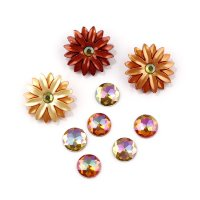 "Набор пуговиц ""ASSORTED FALL BUTTONS-AUTUMN SUNSET"", 4860"