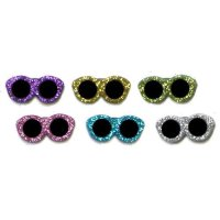 Набор пуговиц ASSORTED ITEMS-GLITER SUNGLASSES 4429