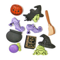 "Набор пуговиц ""ASSORTED HALLOWEEN BUTTONS-GOOD WITCH"", 2990"